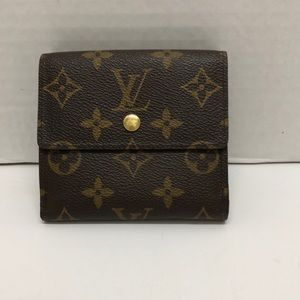 LOUIS VUITTON wallet authentic.